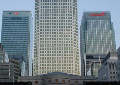 1 Canada Square Canary Wharf