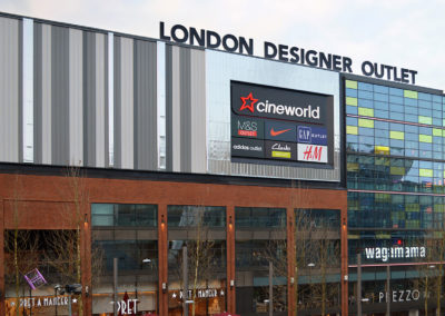 London Designer Outlet Fit-Out Projects
